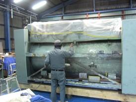 洗濯脱水機 600FLA 整備前写真4